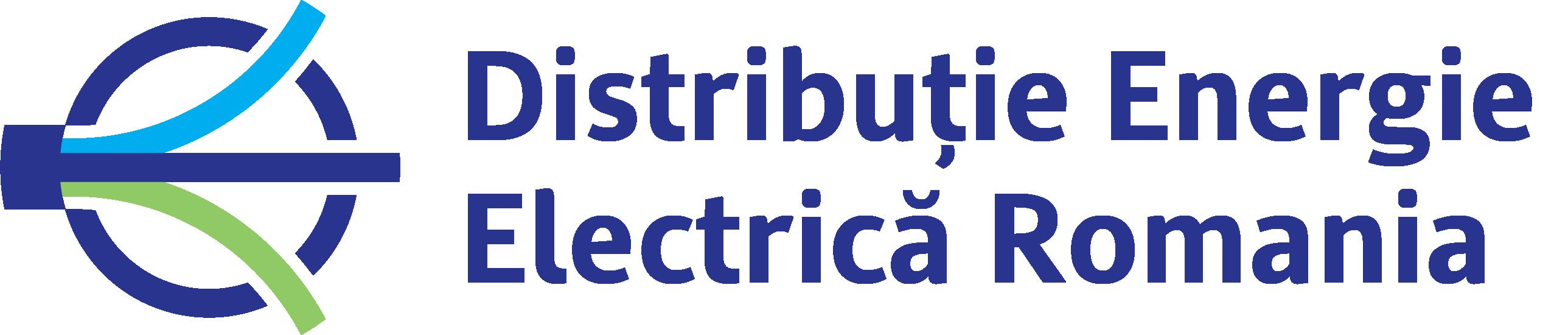 Distribuție Energie Electrică Romania Logo